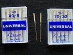 Sewing Machine Needles 60/8 and 70/10