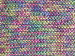 Multi-Colored Purple Acrylic Fabric