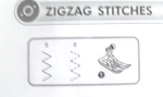All Purpose Presser Foot ZigZag Stitches