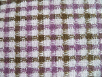 Purple/Brown Boucle Fabric