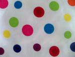 Polka Dot Canvas Fabric
