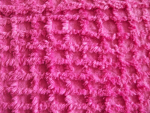Pink Chenille Fabric