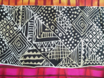 Swatch African Print Fabric