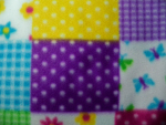 Multi-Color Polka Dot Fleece Fabric
