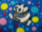 Panda Design Fleece Fabric
