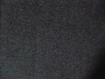 Black Wool Gabardine Fabric