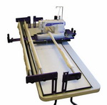 Longarm Machine Happy Side View