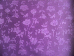 Purple Floral Jacquard Fabric