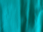 Teal Leather Fabric