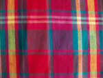 Teal/Fuschia/Purple Plaid Fabric