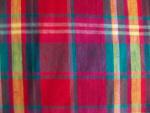 Teal/Fuschia/Purple Plaid Fabric