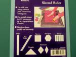 Slotted Quilt Ruler