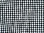 Back and White Seersucker Fabric