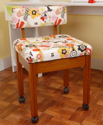 Sewing Chair with Storage