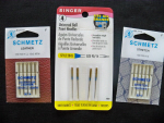 Leather, Ballpoint and Stretch Sewing Machine Needles