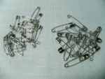 Safety Pins for Sewing