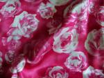 Rose Print Silk Fabric
