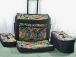 Rolling Quilting Tote Set