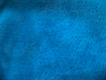Teal Blue Suede Fabric