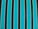 Teal/Black Activewear Fabric