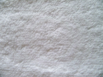 White Terrycloth Fabric