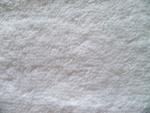 White Terrycloth Fabric