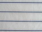 Navy Striped Vinyl Fabric