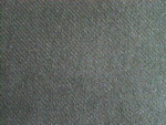 Black Wool Gabardine Wool Fabric
