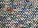 Multi-Colored Brown Acrylic Fabric