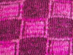 Pink/Black Acrylic Fabric