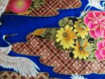 Oriental Crane Cotton Fabric