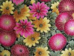 Oriental Floral Cotton Fabric