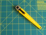 Rotary Cutter 18mm With Rotary Cutting Mat