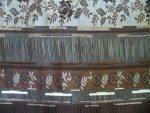 Brown Jacquard Fabric
