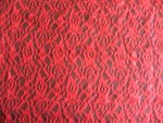 Red Lace Fabric