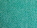 White Polka Rayon Fabric