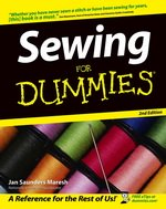 Sewing For Dummies Book