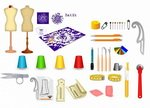 Sewing Notions Icons