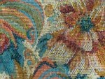 Gold Pattern Tapestry Fabric